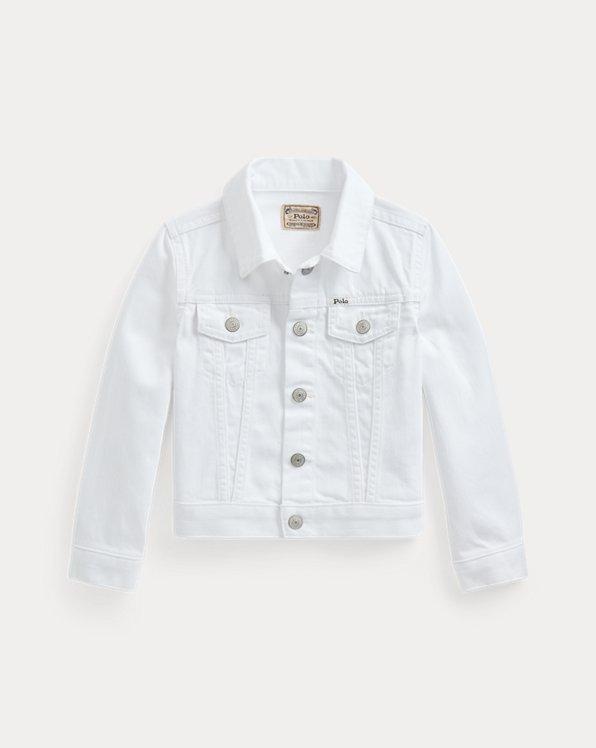 Cotton Denim Trucker Jacket