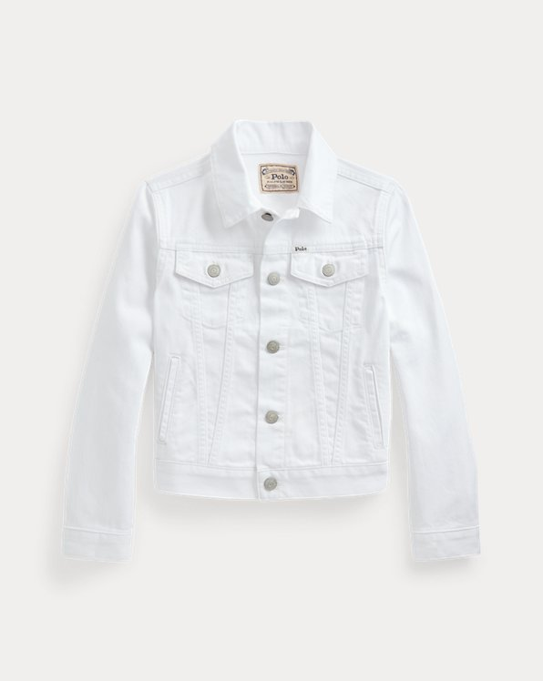 Trucker-Jacke aus Baumwolldenim