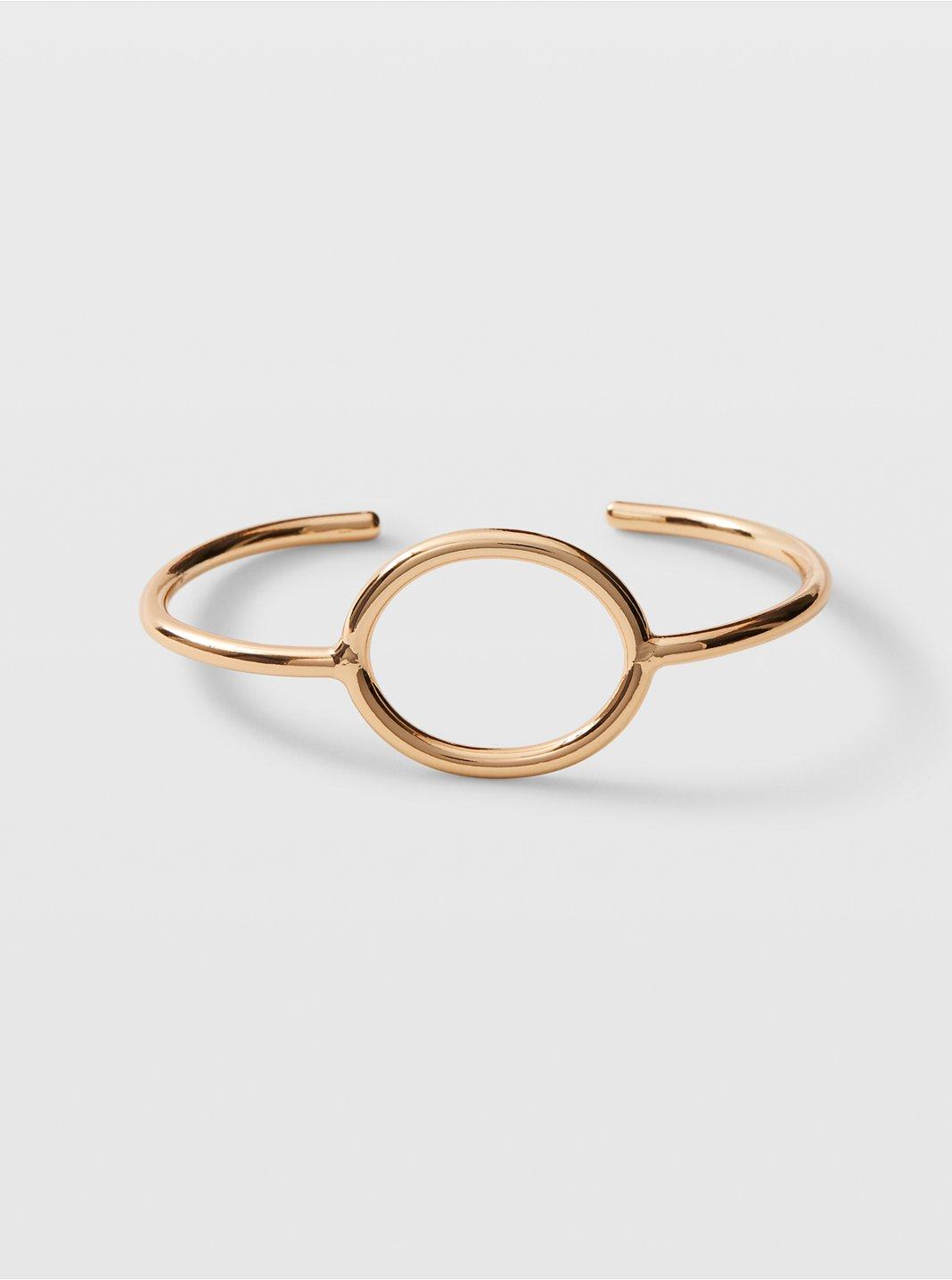 Circle Cuff Bracelet