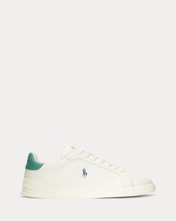 Heritage Court II Leather Trainer