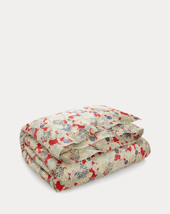 Remy Floral Sateen Duvet Cover