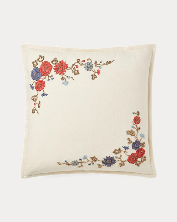 Macall Embroidery Throw Pillow