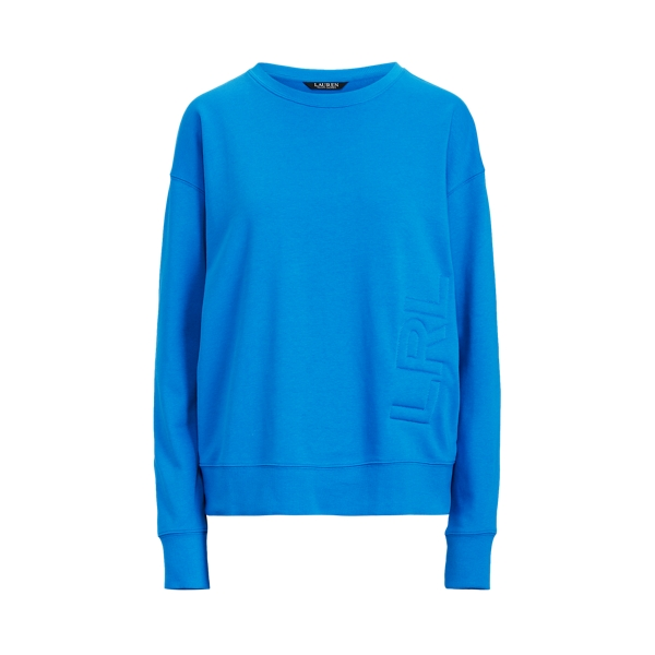 Lauren Logo French Terry Pullover,Tropic Royal