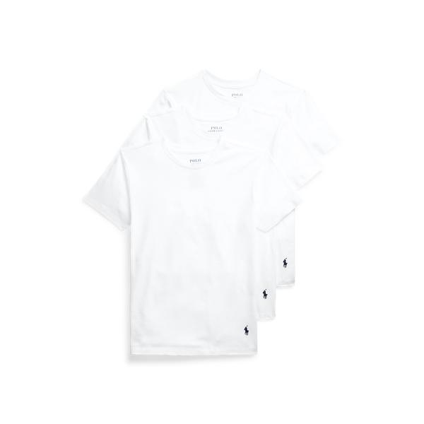 Polo Ralph Lauren SOLID COTTON CREWNECK 3-PACK