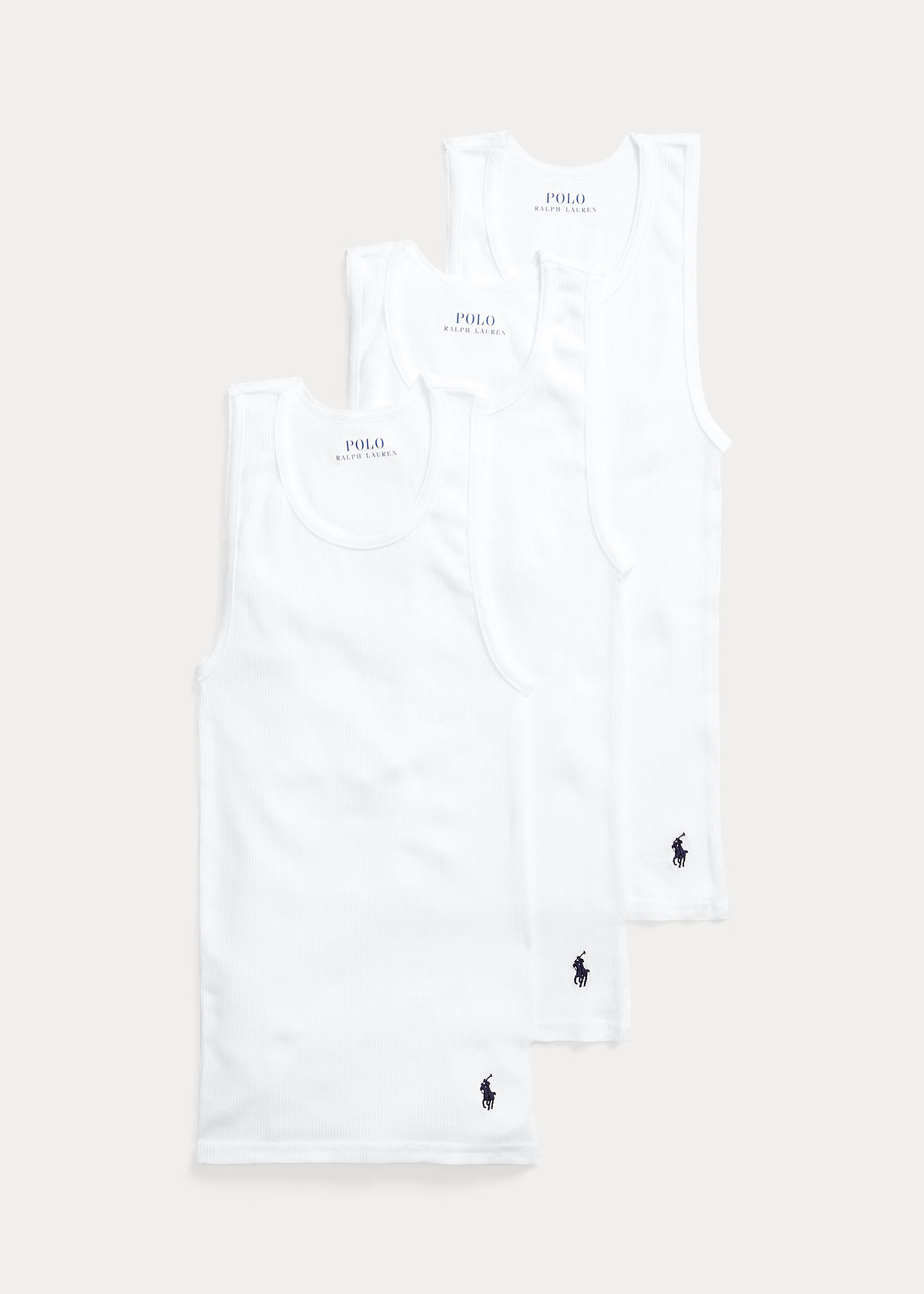 Polo Ralph Lauren Solid Classic Tank 3 Pack