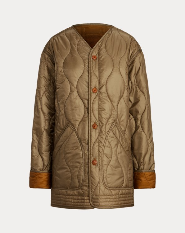 Reversible Quilted Ripstop Jacket