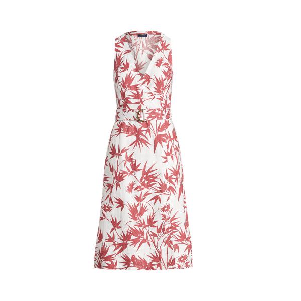 폴로 랄프로렌 Polo Ralph Lauren Floral Belted Wrap Dress,Magpie Floral