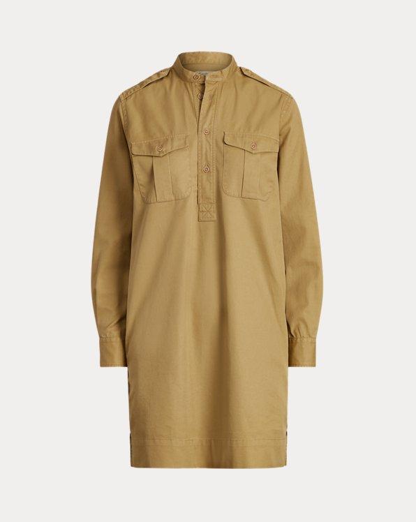 Hemdkleid aus Baumwolltwill