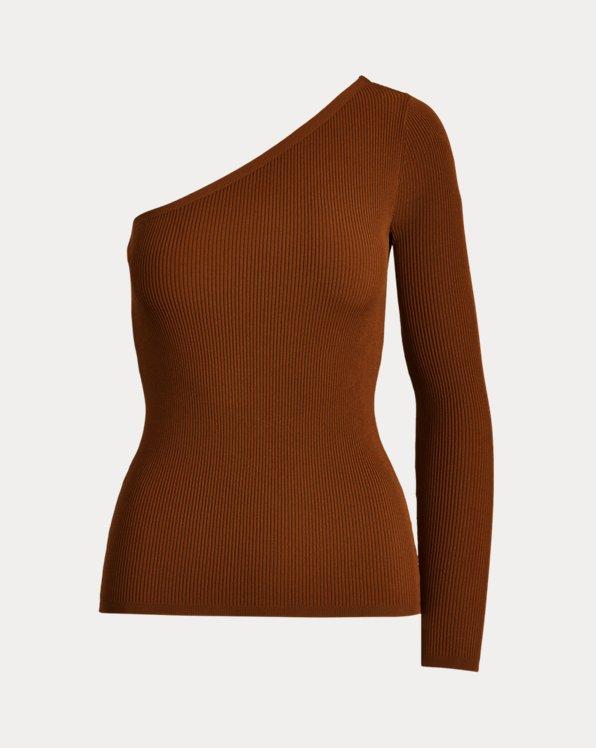Ribbed One-Sleeve Shirt