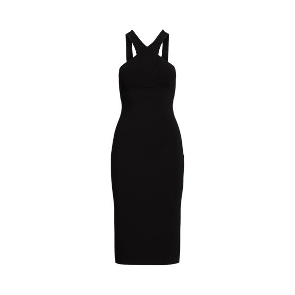 폴로 랄프로렌 Polo Ralph Lauren Sleeveless Halter Dress,Black