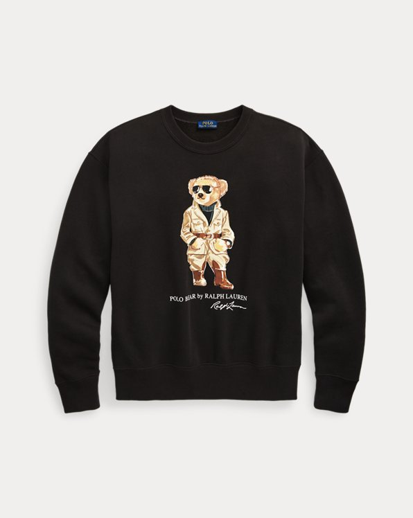 Safari Polo Bear Sweatshirt