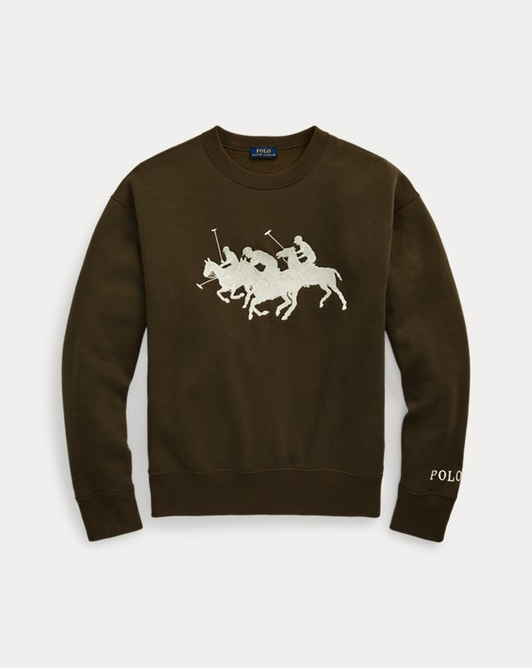 Polo Match Fleece Sweatshirt