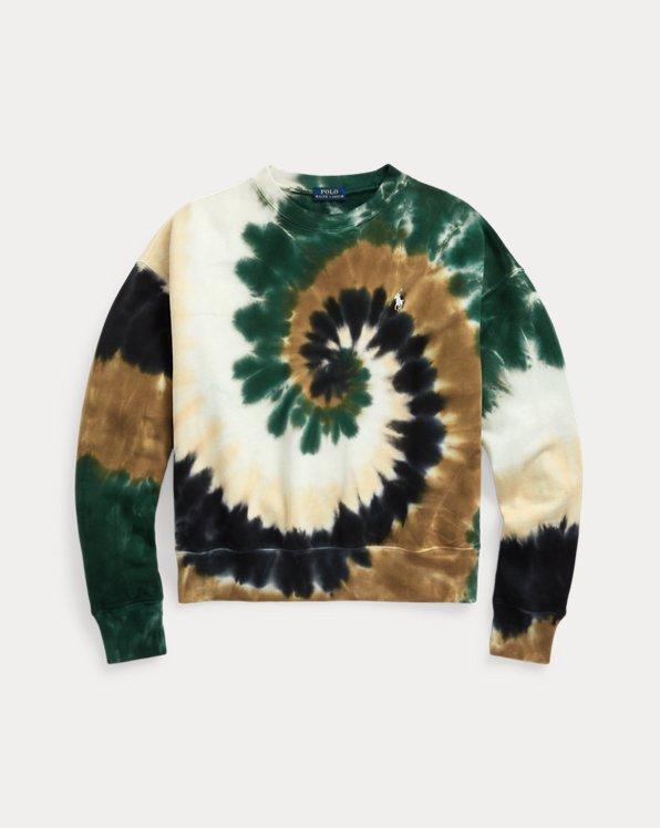 Spiral Tie-Dye Terry Sweatshirt