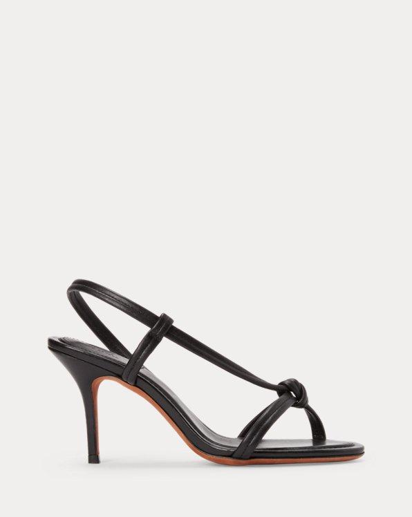 Calfskin Knotted Sandal