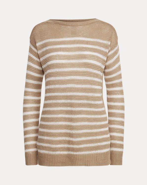 Striped Linen Jumper