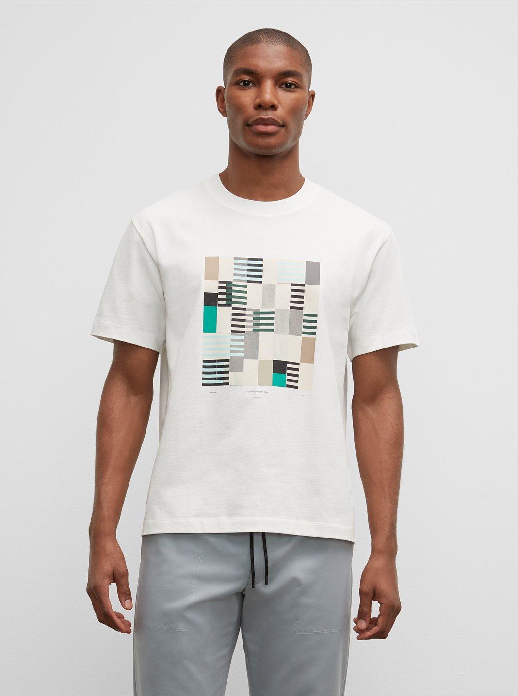 T-shirt imprimé géo