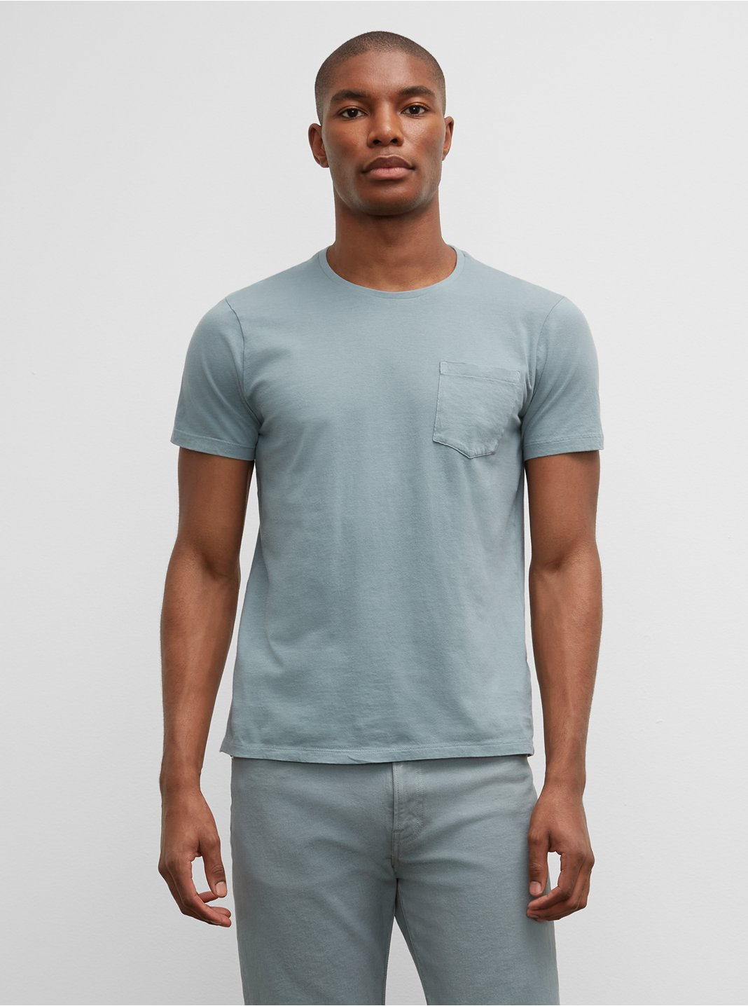 Williams Tea Dyed Short-Sleeve Crew