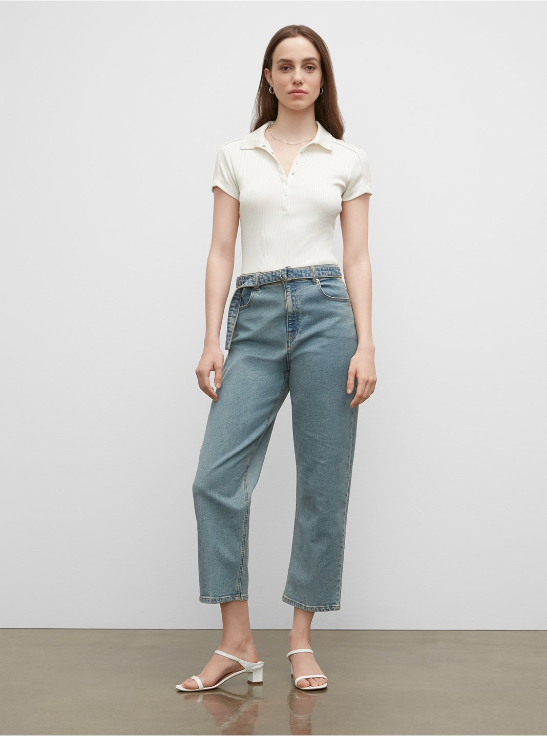 The Easy Crop Jeans