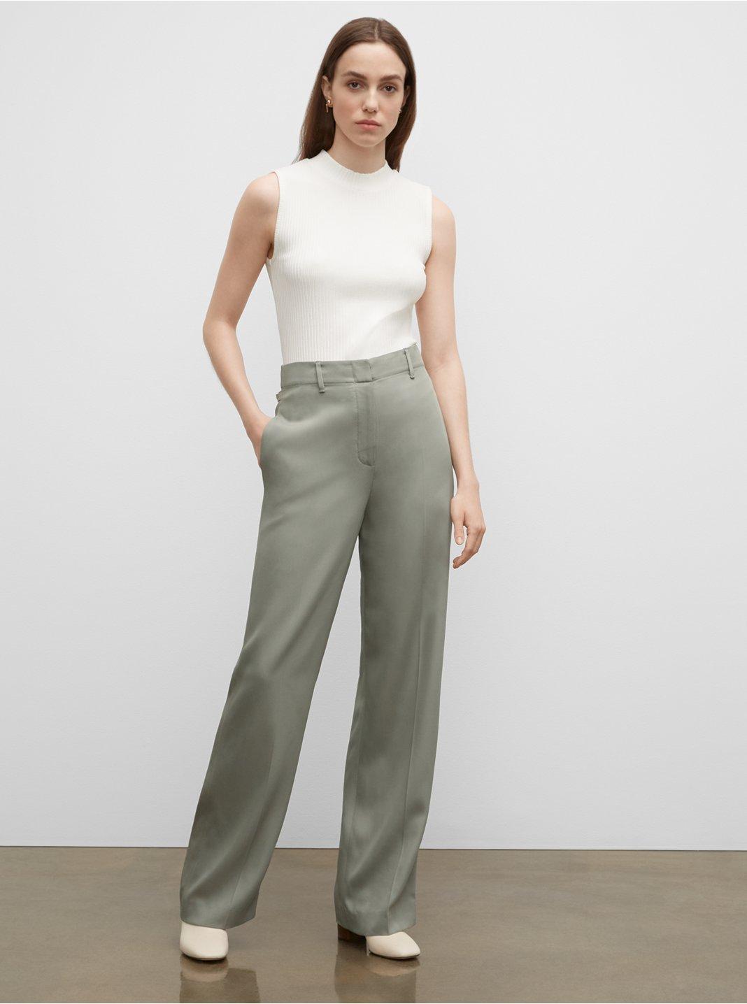 Tab Detail Pants