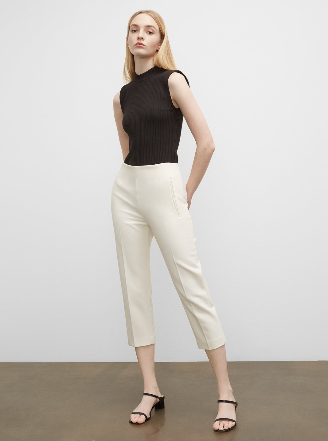 Cigarette Crop Pants