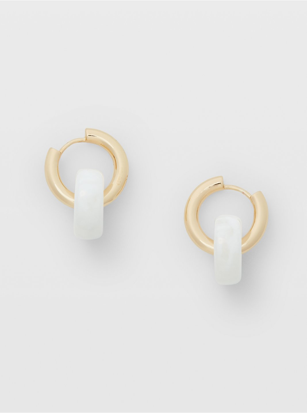 Ring Hoop Earrings