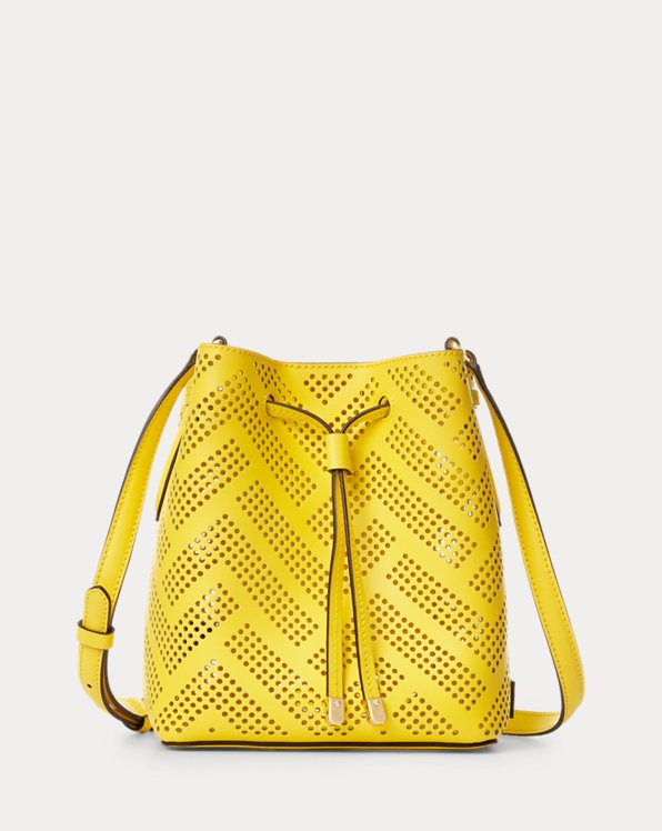 Perforated Leather Debby II Bag