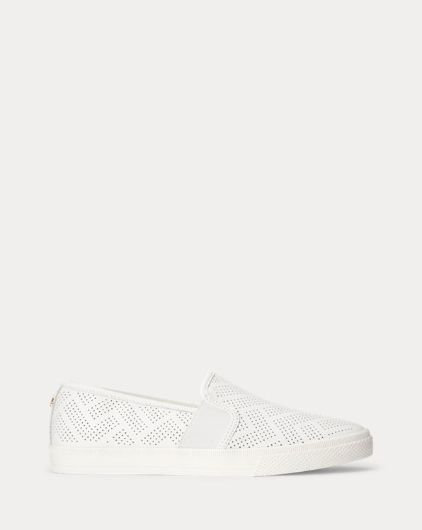 Jinny Perforated Nappa Leather Sneaker