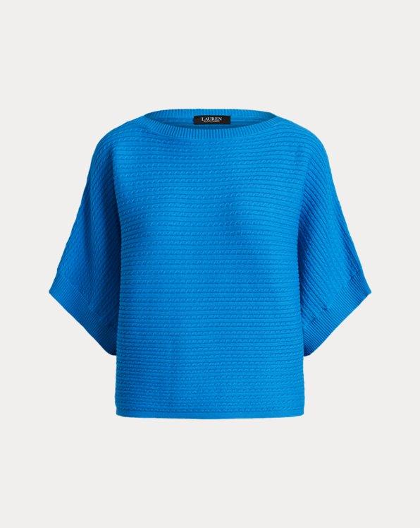 Jersey de algodón en punto de ochos