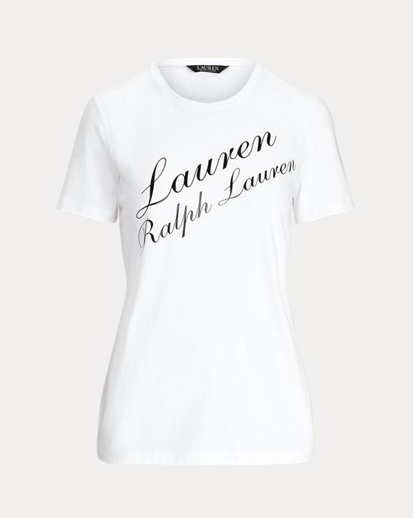 T-shirt logo en jersey