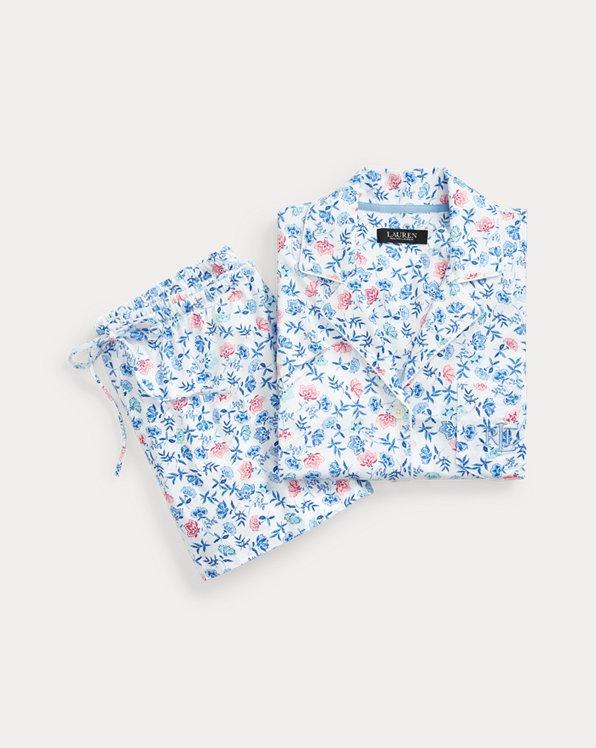 Floral Boxer Pyjama Set