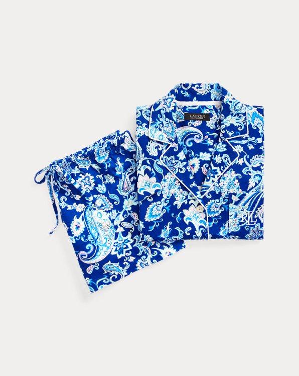Paisley Boxer Pyjama Set