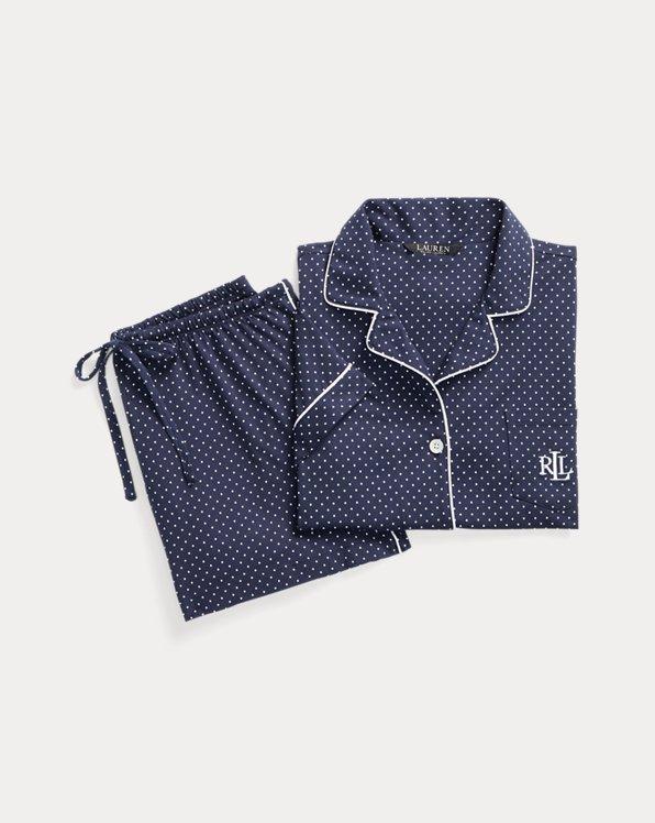 Polka-Dot Boxer Pyjama Set