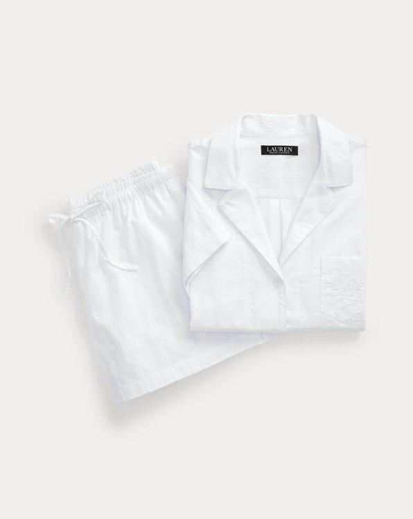 Ensemble pyjama short rayé