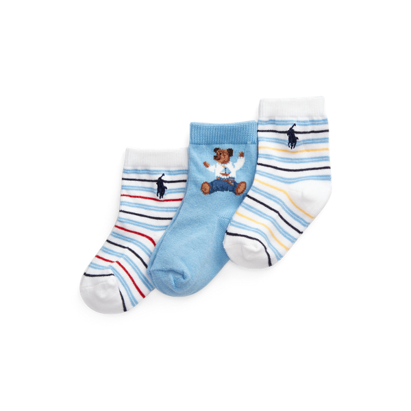 Bear Crew Sock 3-Pack