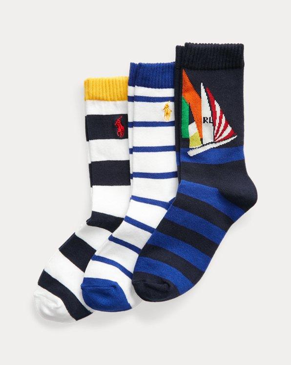 Yacht Crew Sock 3-Pack