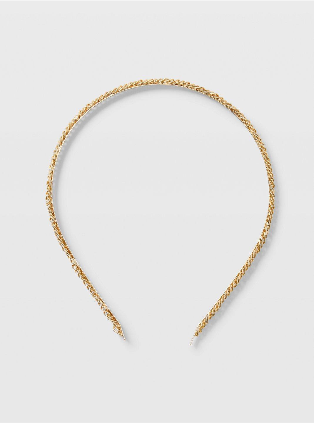 Bandeau à chaîne texturée