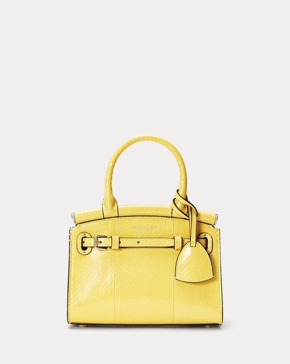 Ayers Snakeskin Mini RL50 Handbag