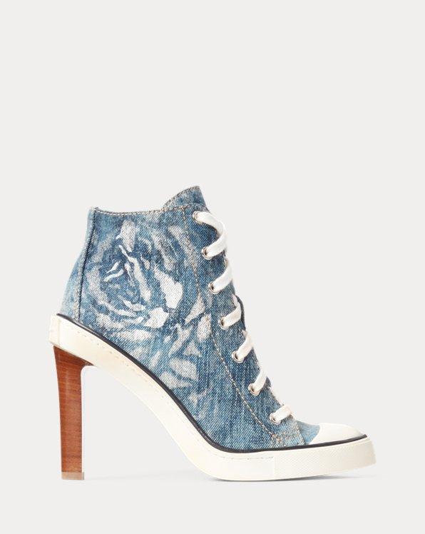 Raelyn Floral Denim Sneaker Pump