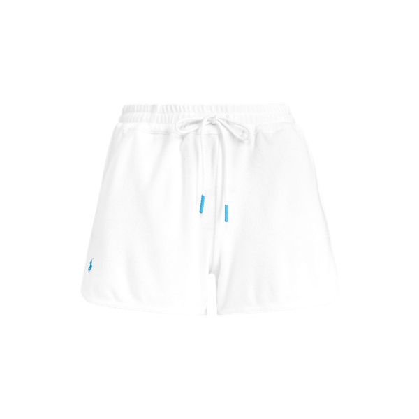Ralph Lauren French Terry Short In White