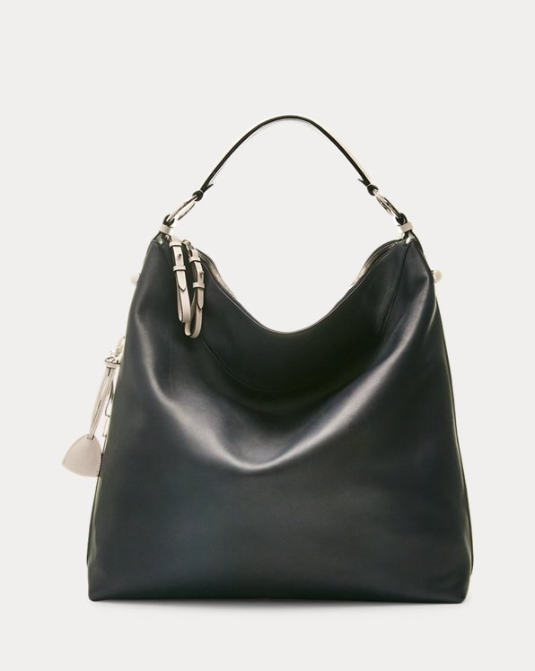 Calfskin Large Bridle Bag