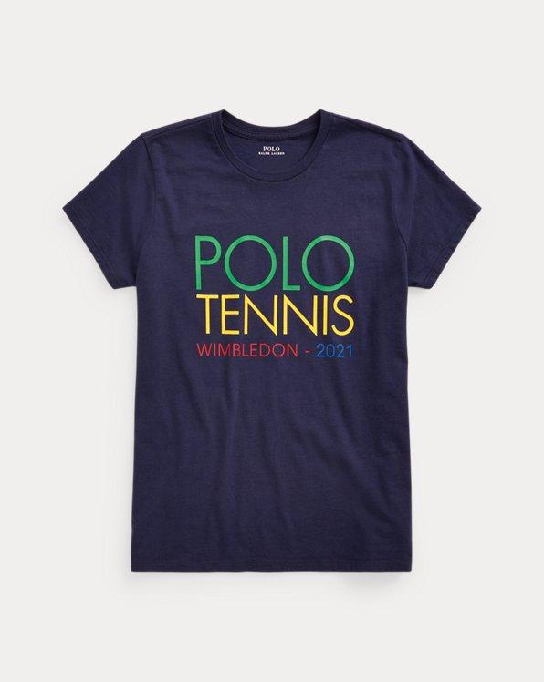 Wimbledon Cotton Jersey Graphic Tee