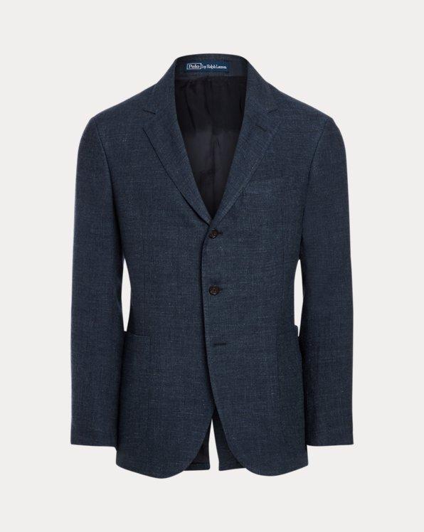 Polo Linen-Wool Twill Sport Coat