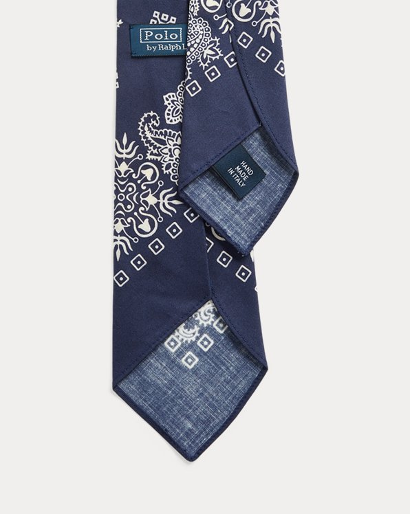 Vintage-Inspired Bandanna Tie