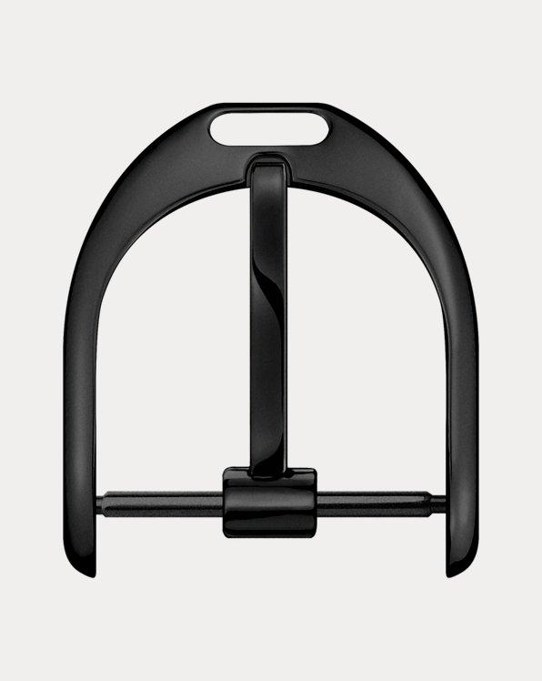 13 mm Black Steel Pin Buckle