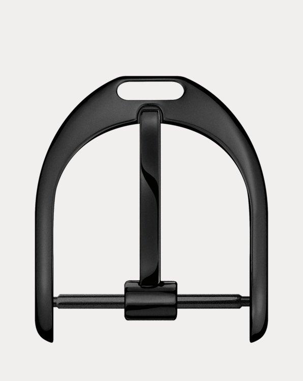 Black Finish Steel 17 mm Pin Buckle