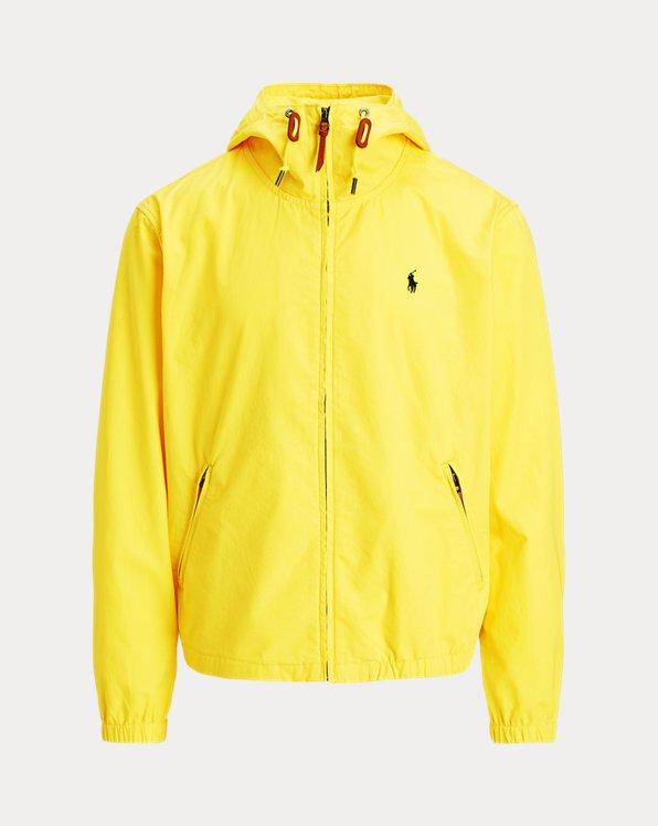 Poplin Hooded Jacket