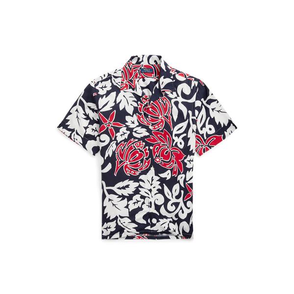 Ralph Lauren Classic Fit Floral Camp Shirt In Multi