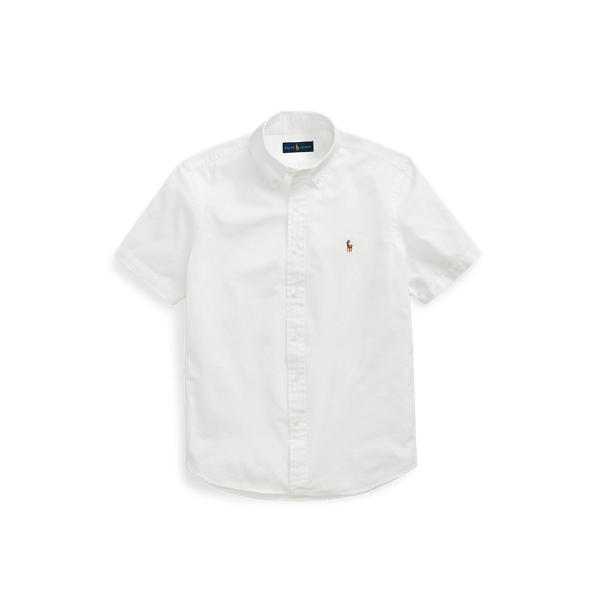 Ralph Lauren Classic Fit Chambray Shirt In White