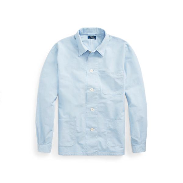 Ralph Lauren Classic Fit Oxford Shirt In Blue