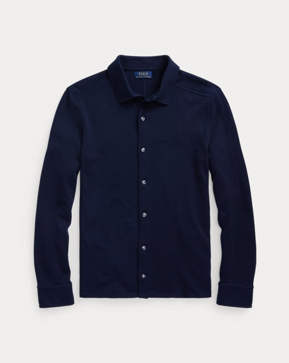 Cotton Shirt Jumper